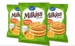 Ovi & Sari Cake Milkiss Melk Honing & Sinaasappel 50 Gram voorkant