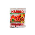 Haribo Aardbeien Snoep 80 Gram voorkant