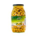 Al Hokool Al Khadra Groene Olijven 3 KG