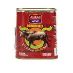 Al Raii Ingeblikt Halal Rund 340 Gram voorkant