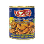 Chtoura Garden Gekookte Tuinbonen (bajella) met Citroenzuur 850 Gram voorkant
