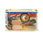 Al Raii Ingeblikte Halal Kip 200 Gram voorkant
