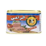 Al Raii Ingeblikte Halal Rund 200 Gram voorkant