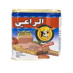 Al Raii Ingeblikte Halal Rund 340 Gram voorkant