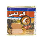 Al Raii Ingeblikte Halal Kip 340 Gram voorkant