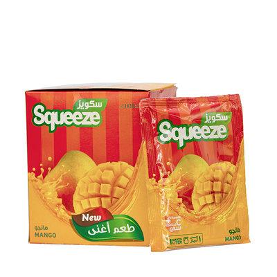 Squeeze Poeder Drank Mango 12x35 Gram