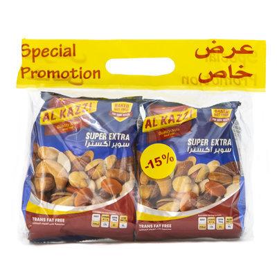 Al Kazzi Promotiepak Noten Super Extra 2x300 Gram