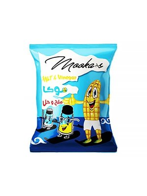 Chips Mooka's Salt & Vinegar 65 Gram