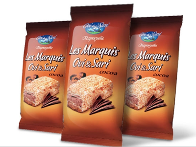 Ovi & Sari Cake Marquis Cacao Vulling 90 Gram