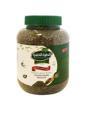 Al Hokool Al Khadra Za'ater Groen 400 Gram