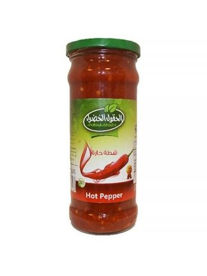 Al Hokool Al Khadra Paprika Puree (Scherp) 370 Gram