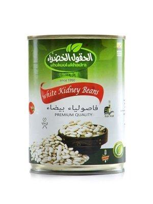 Al Hokool Al Khadra Witte Bonen In Blik 400 Gram