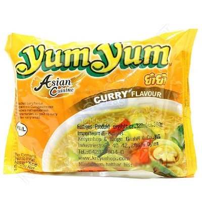 Yum Yum Instant Noodles Curry 55 Gram