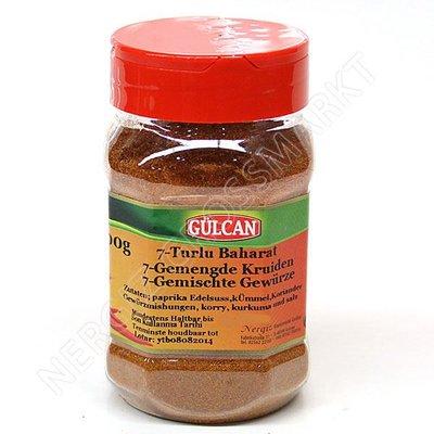 Gülcan 7- Kruidenmix 170 Gram