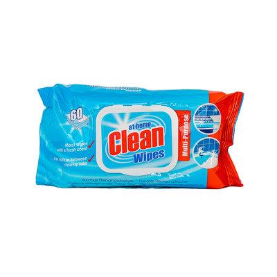 At Home Clean Vochtige Reinigingsdoekjes 60 Stuks