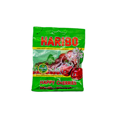 Haribo Happy Cherries Snoep 80 Gram