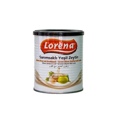 لورينا زيتون أخضرمع الثوم  بدون 850 غرام
