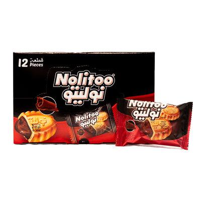 Nolitoo Koek (Mamoul) Chocola 12 x 30 Gram