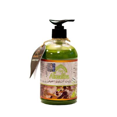 Al Malika Natuurlijke Zeep Van Olijf Olie Met Hand Pomp 500 ml