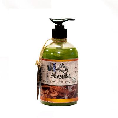 Al Malika Natuurlijke Zeep Zoethout Olie Met Hand Pomp 500 ml