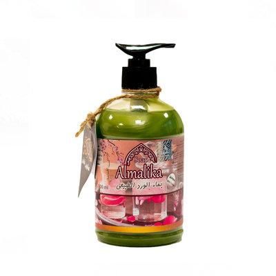 Al Malika Natuurlijke Zeep Rozen Olie Met Hand Pomp 500 ml