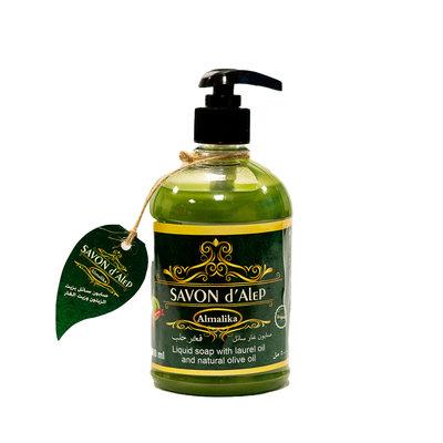 Al Malika Natuurlijke Zeep Laurel Olie Met Hand Pomp 500 ml