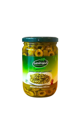 Al Hokool Al Khadra Gesneden Olijven 650 Gram
