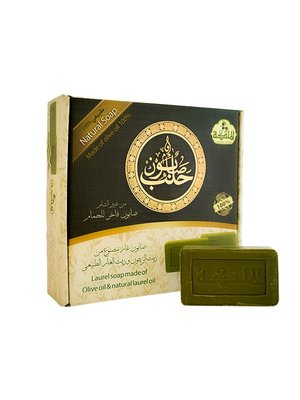 Al Malika Natuurlijke Aleppo Groene Zeep Blokjes 16x90 gram