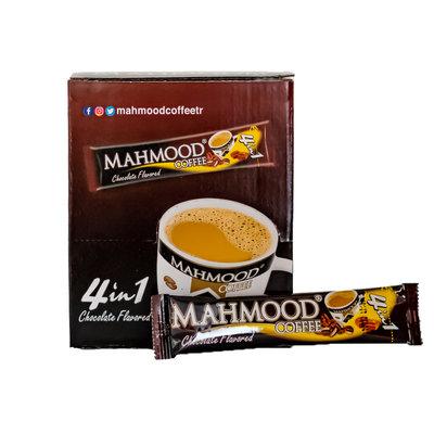 Mahmood Oploskoffiezakjes 4 in 1 (koffie, melk, suiker & Chocola) 24 Stuks