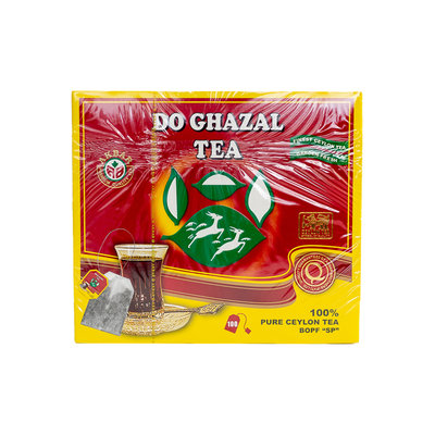 Do Ghazal Theezakjes Ceylon Thee 100 Stuks