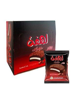 Lahfa Chocolade Biscuits Gevuld Met Marshmallow 24 Stuks