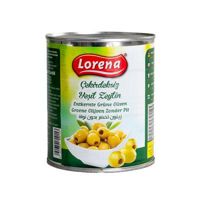 Lorena Groene Olijven Zonder Pit 850 Gram