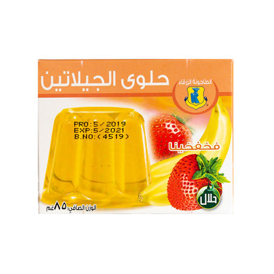 Blue Mill Jelly Poeder Gemixt Fruit 85 Gram