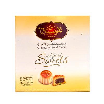 Nafeeseh Sweets Maamoul Koekjes met Dadel vulling 500 Gram