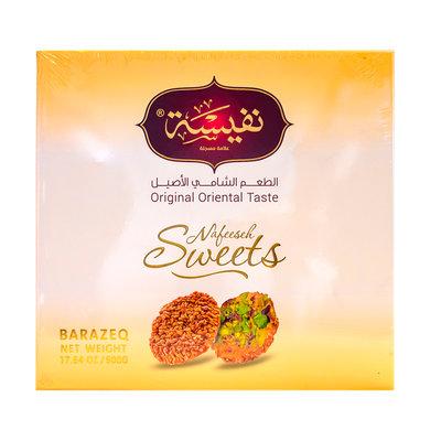 Nafeeseh Sweets Barazek met Pistache 500 Gram