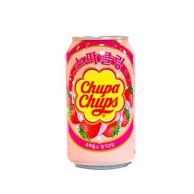 Chupa Chups Aardbei Frisdrank 345 ML