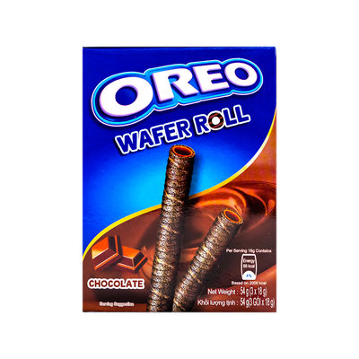 Oreo Wafer Roll Chocola 54 Gram
