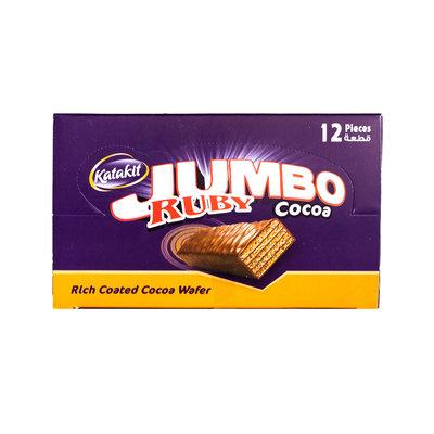 Katakit Ruby Jumbo Chocolade Biscuit 12 Stuks