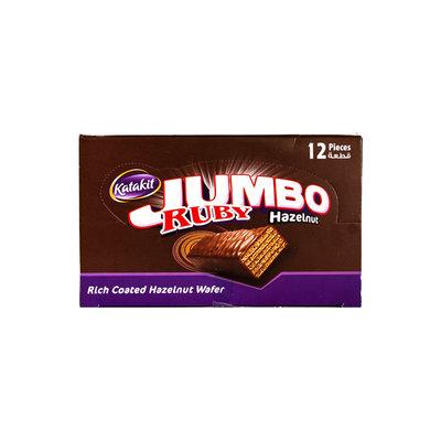 Katakit Ruby Jumbo Hazelnoot Biscuit 12 Stuks