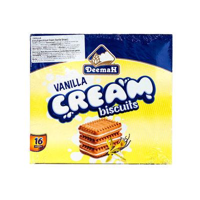 Deemah Biscuits Vanille Room Vulling 16 Stuks