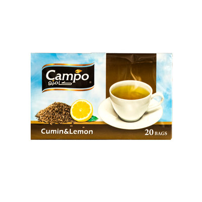 Campo Theezakjes Kaneel & Gember thee 20 Stuks