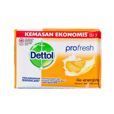 Dettol Antibacteriële Zeepblok Mandarijn 105 Gram