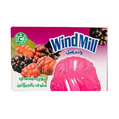 Windmill Jelly Poeder Framboos 80 Gram