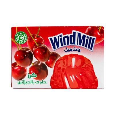 Windmill Jelly Poeder Kers 80 Gram