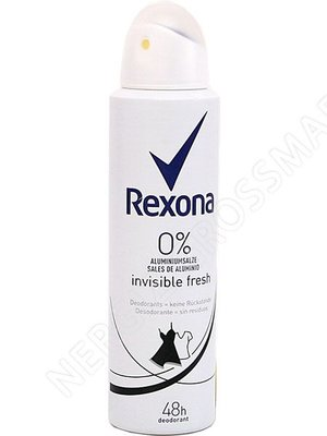 Rexona Deospray Invicible Fresh 0% Aluminium 150ml