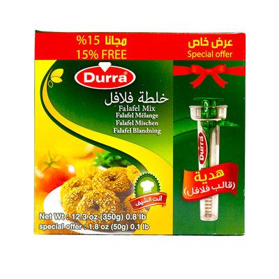 Durra Falafel Kruidenmix met Falafel-portioneerder 350 Gram