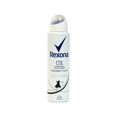 Rexona Deospray Invisible Fresh 0% Aluminiumzout 150 ML