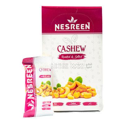 Nesreen Cashew Geroosterd & Gezouten (Uitdeelzakjes) 24x20 Gram
