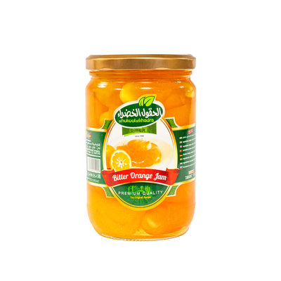Al Hokool Al khadra Bitter Sinaasappel Jam 775 Gram