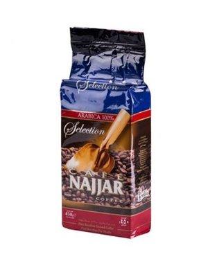 Najjar Gemalen Arabische Koffie zonder Kardemom 450 Gram